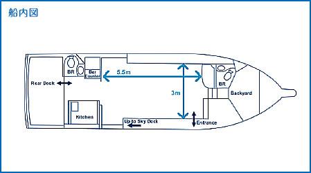 レノン号船内図