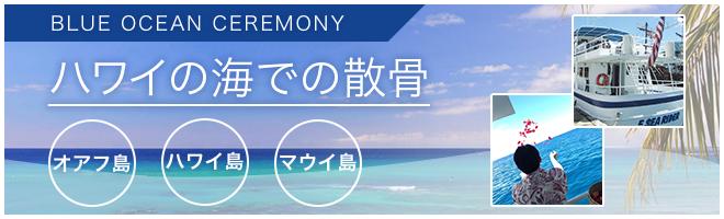 ハワイの海での散骨/ハワイ(オアフ島・ハワイ島・マウイ島)の海洋散骨