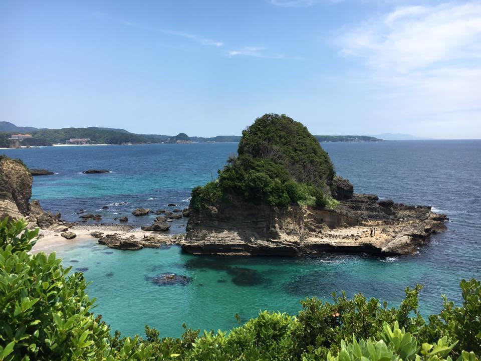 静岡県南伊豆、下田沖での海洋散骨を施行しました。