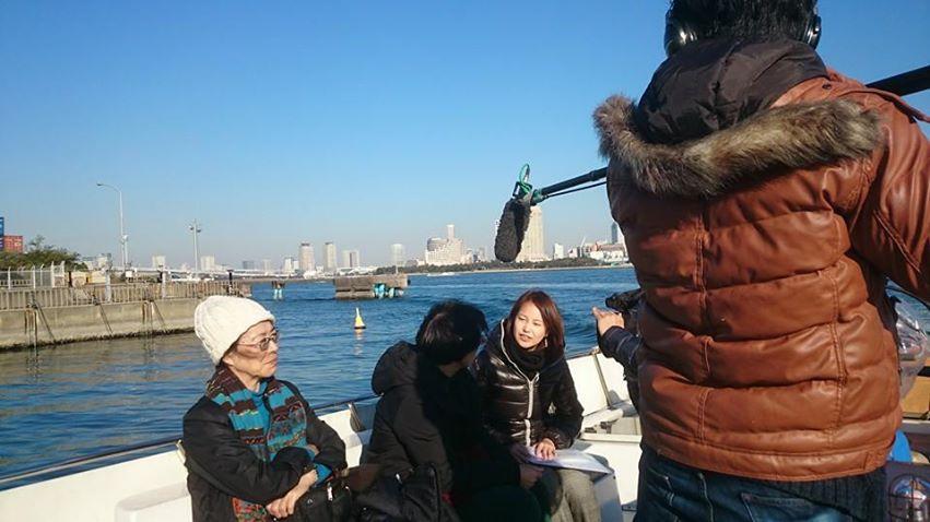 テレビ朝日「スーパーJチャンネル」海洋散骨体験クルーズの様子が放映されました。