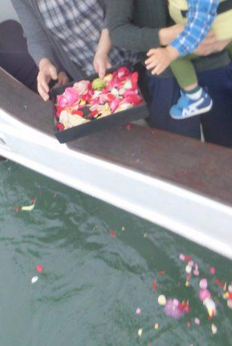 小さなお子様でも安心して乗船できる穏やかな東京湾。