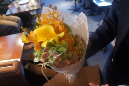 とても良いお花を使ってくれたとご好評いただきました。