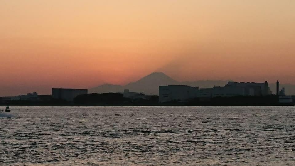 富士山が見える場所で散骨
