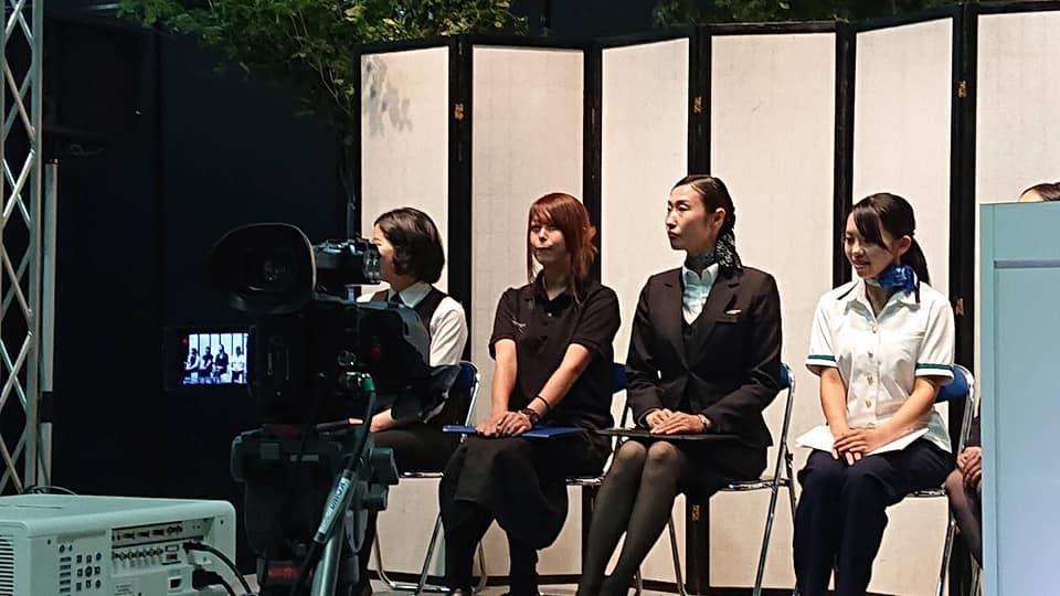 エンディング産業展の供養女子コンテストに出場