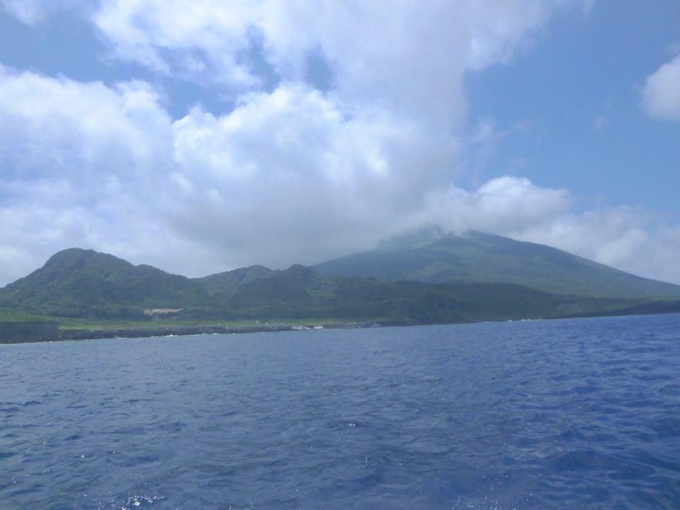 8月に八丈島にて散骨をしました